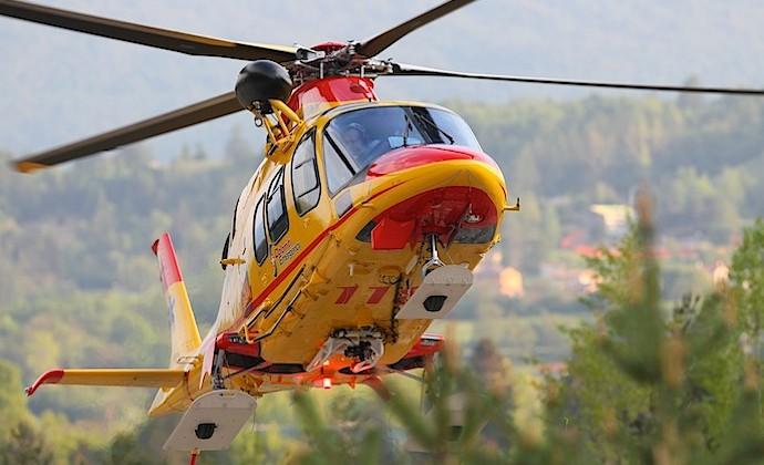 L'elicottero del SUEM (Luca Mares)
