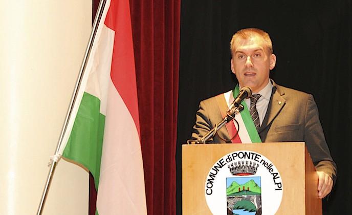 Roger De Menech, sindaco di Ponte nelle Alpi