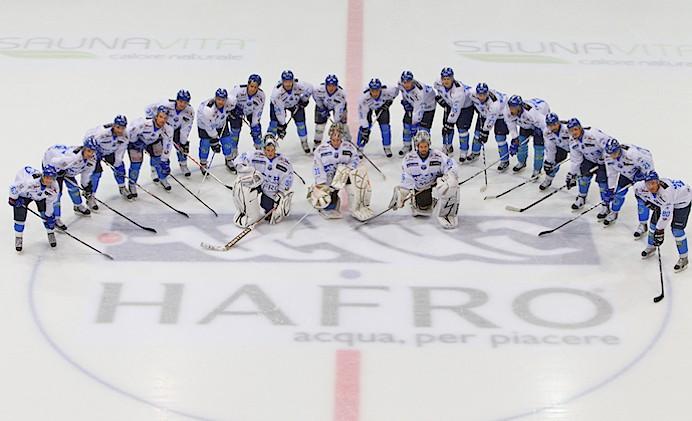 L'Hafro Cortina sul ghiaccio dello Stadio Olimpico (Luca Mares)