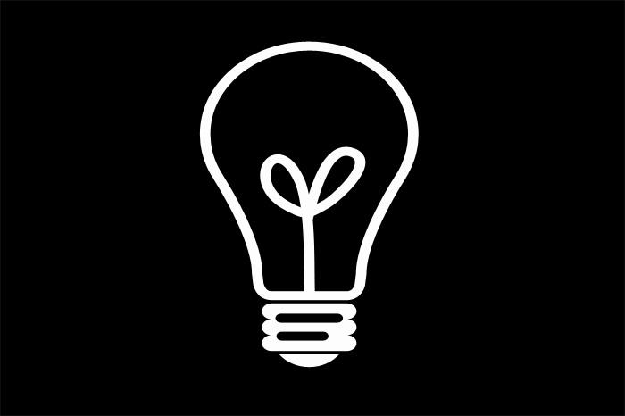 lampadina stilizzata decorare la tua casa