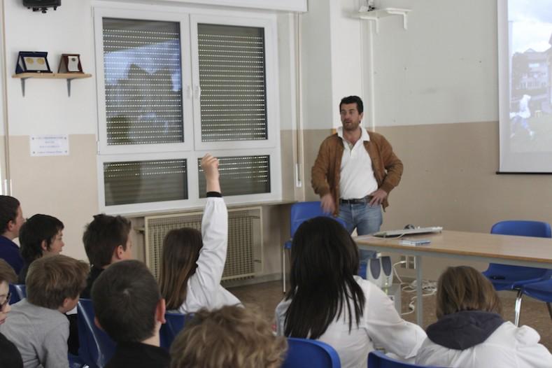 Scuola aula insegnamento