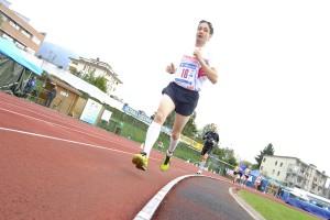 Fabio De Mas impegnato in una gara di corsa a piedi (Luca Mares)
