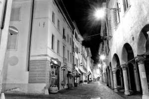 Belluno via Mezzaterra (Luca Mares)