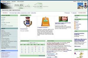 Il sito internet del Comune di Zoldo Alto