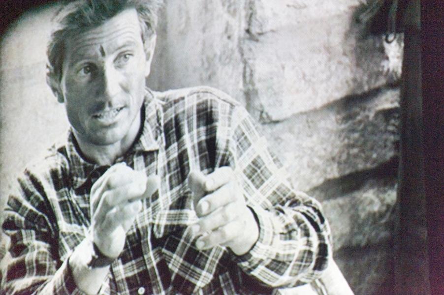 Un'immagine di Bonatti nelle scorse edizioni (Fabio Barito)