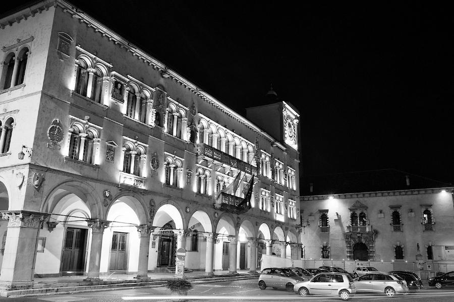Piazza Duomo a Belluno (Luca Mares)