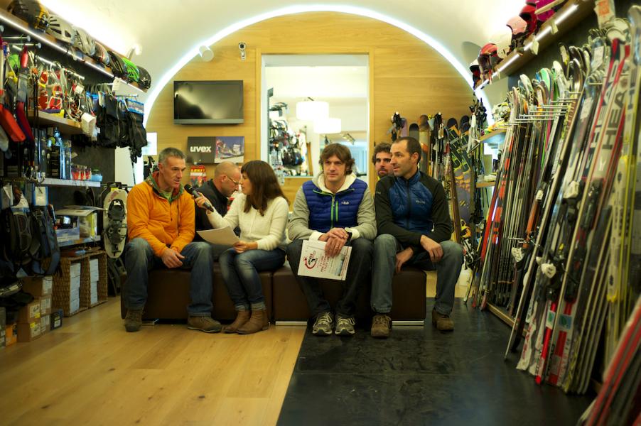 Intervista agli organizzatori della 24 Ore di sci alpinismo (Luca Mares)