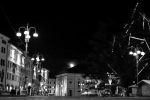 Una fotografia della piazza dei Martiri a Belluno (Luca Mares)