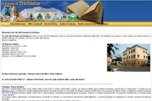 Il sito internet del Comune di Trichiana