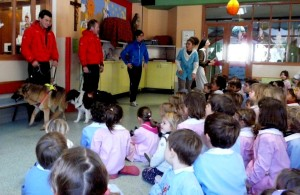 Il Soccorso Alpino si presenta ai bambini