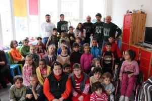 Il Circolo Tennis Polpet a Casa Pollicino in Romania