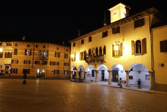 Piazza Papa Luciani a Mel