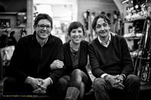 Da sx Davide Pezzei, Chiara Reolon e Fabio De Mas (Luca Mares)