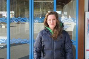 La nuotatrice Arianna Levorato della Sportivamente Belluno