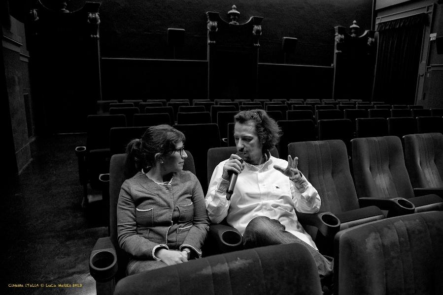 Manuele Sangalli del Cinema Italia intervistato da Chiara Reolon (Luca Mares)