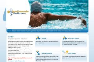 Il sito internet della Sportivamente Belluno