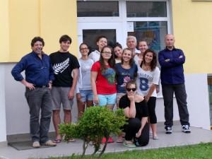 I ragazzi del Catullo a Casa Pollicino in Romania