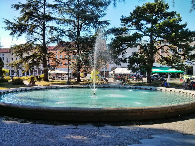 La fontana di Piazza Martiri a Belluno
