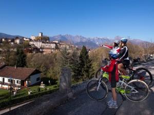 La pista ciclabile Lunga Via delle Dolomiti