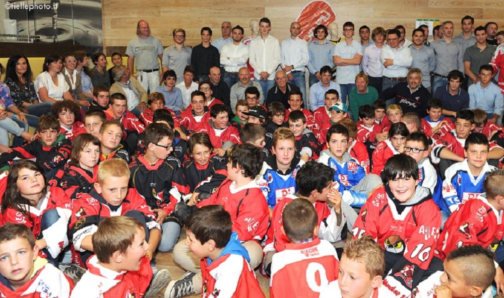 La presentazione 2014 dell'Hockey Alleghe (Tiellephoto.it - Tonino Zampieri)