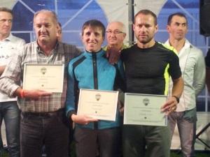 I premiati da dx Claudio Cassi e Ketty Viel