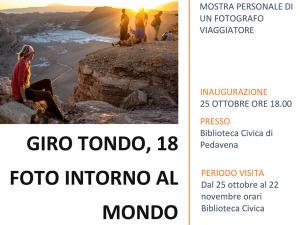 Locandina mostra fotografica Girotondo di Mauro Bronzato