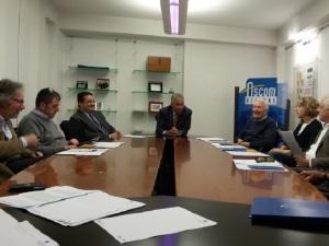 La riunione con i concessionari locali