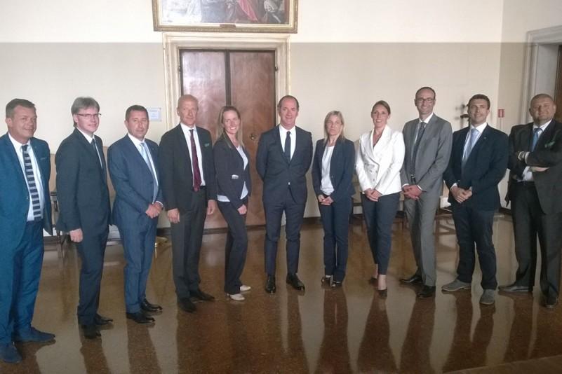 Regione Veneto giunta Zaia con Bottacin gruppo lavoro