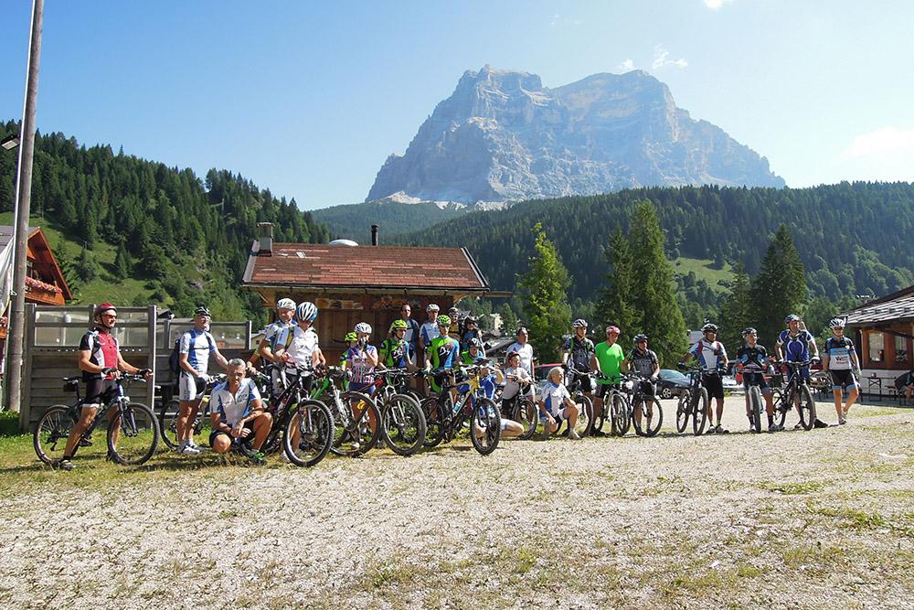 Happy Val di Zoldo, un successo per Dolomiti Mtb School