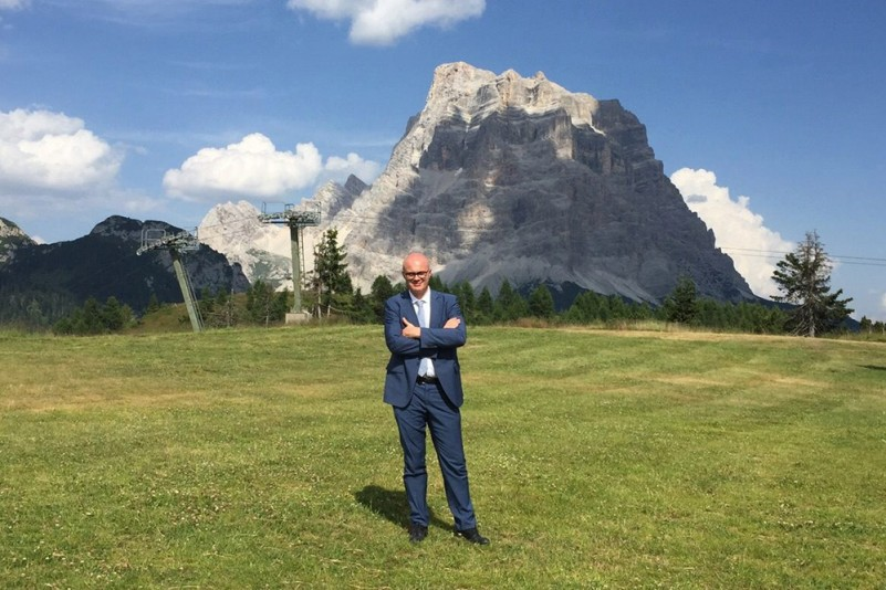 Il deputato Federico D'Incà (Fb)