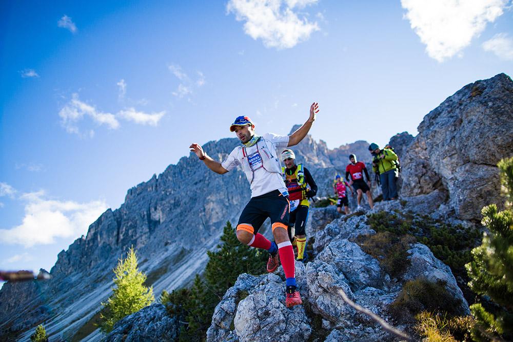 Misurina Sky Marathon 2015 - Un passaggio in quota