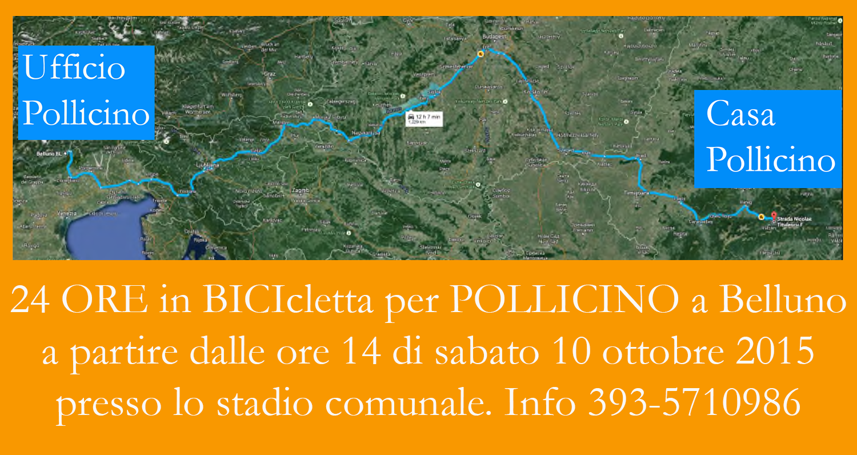 24 ORE in BICIcletta per POLLICINO