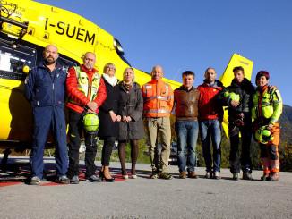 Dolomiti Emergency donazione Banca Unicredit al Soccorso Alpino