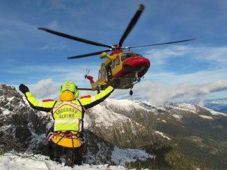 Soccorso alpino elicottero CNSAS