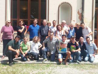 Visita del vescovo in Vena dOro associazione Nuovi Orizzonti