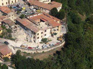 Fotografie del terremoto nel Centro Italia realizzate da Piergiorgio Rosati e Marco Frerotti
