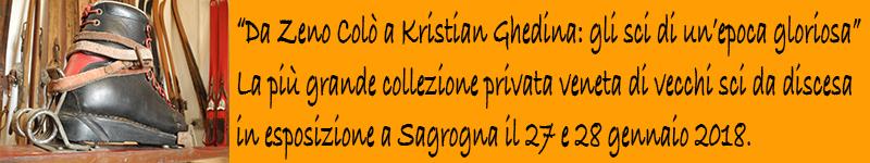 Da Zeno Colò a Kristian Ghedina: la più grande collezione privata veneta di vecchi sci da discesa